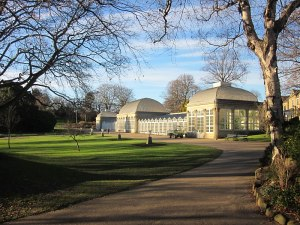 The pavilion in Sheffield's Botanic Gardens