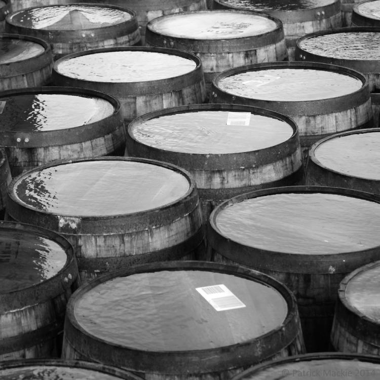 Kilchoman barrels
